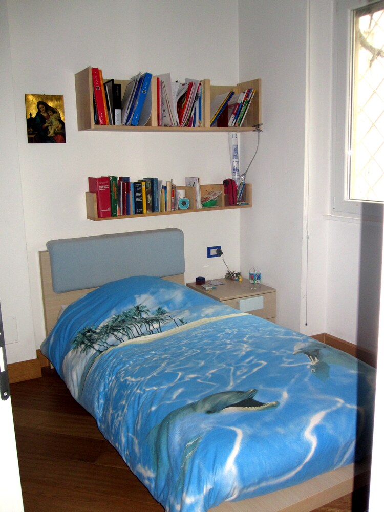 Your bedroom - bed