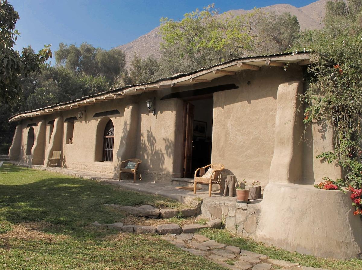 Alquiler casa campo Santa Eulalia