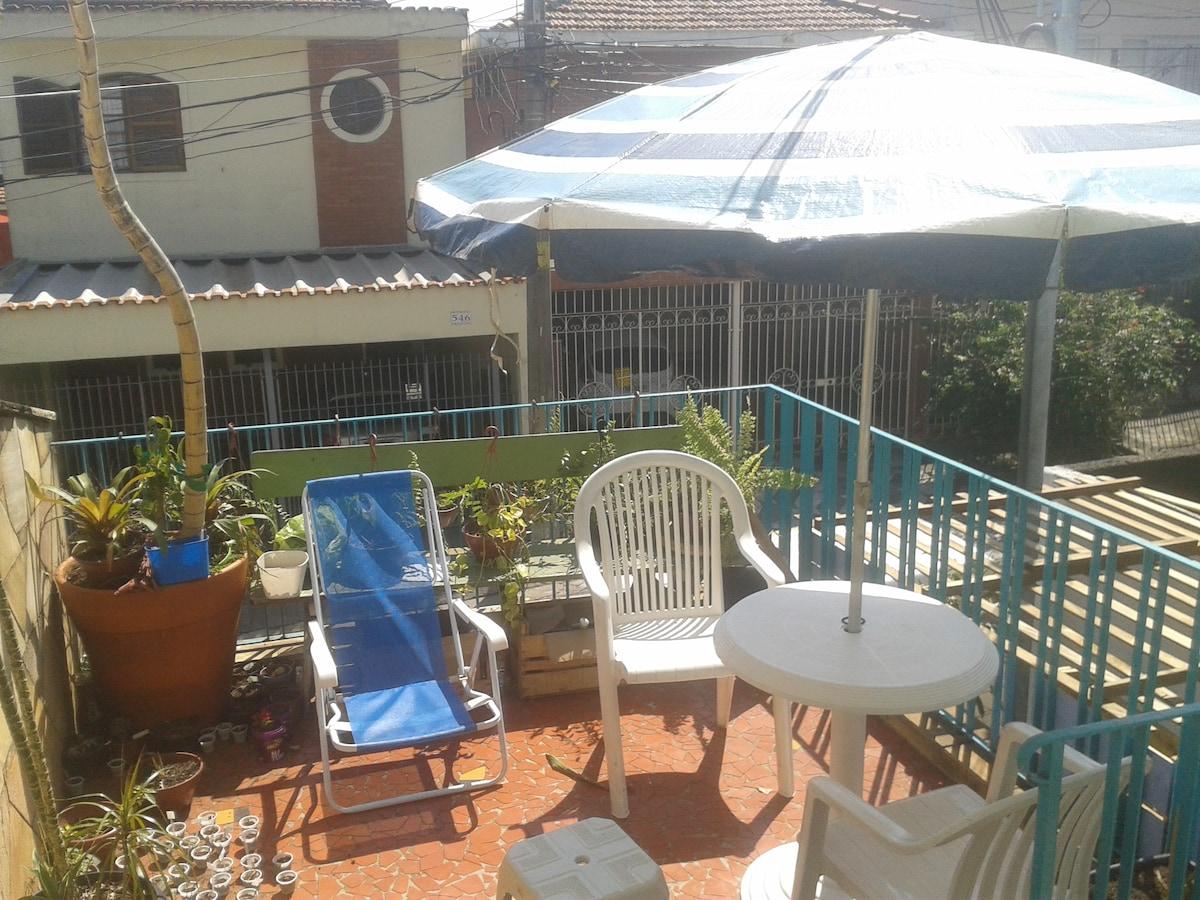 Sunny House 5minMetro Vila Madalena