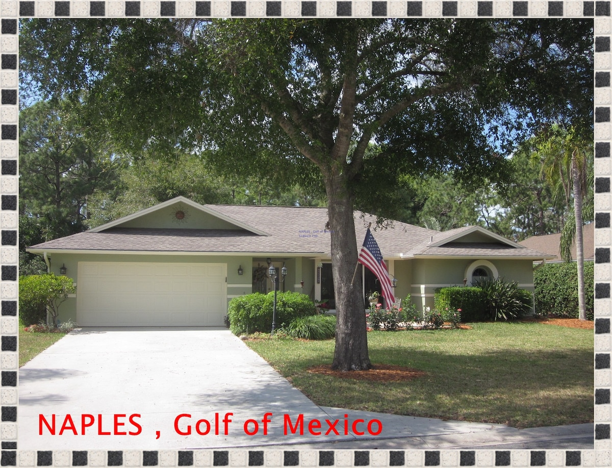 Your B&B home in Naples - Southwest Florida - Golf of Mexico