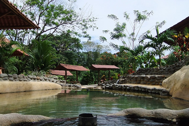 View from the Grotto Hot Spring source pool