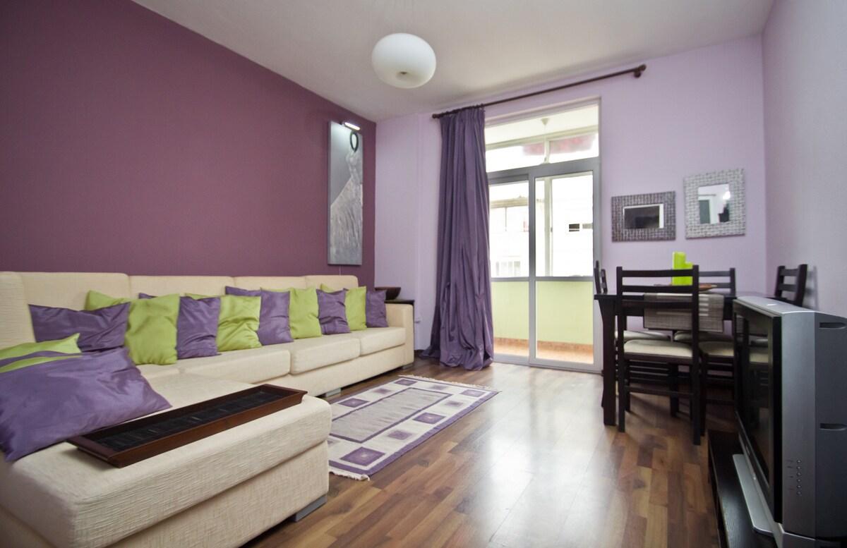Quiet, Cozy & Fine Living in Tirana