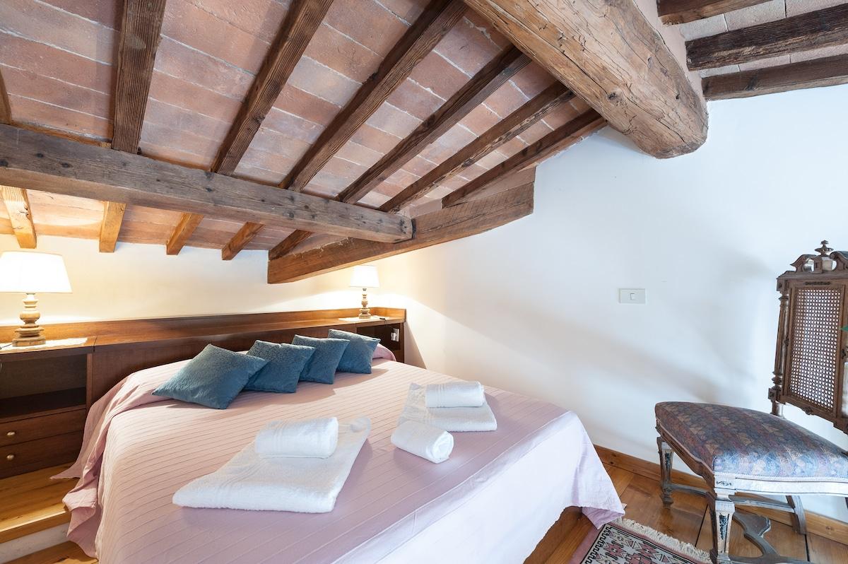 Bedroom in the loft