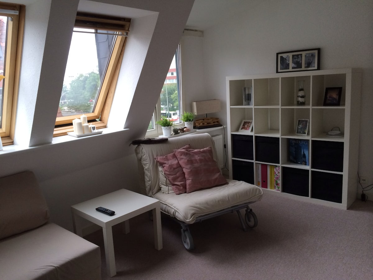 Comfy 2-room-flat, central, WIFI