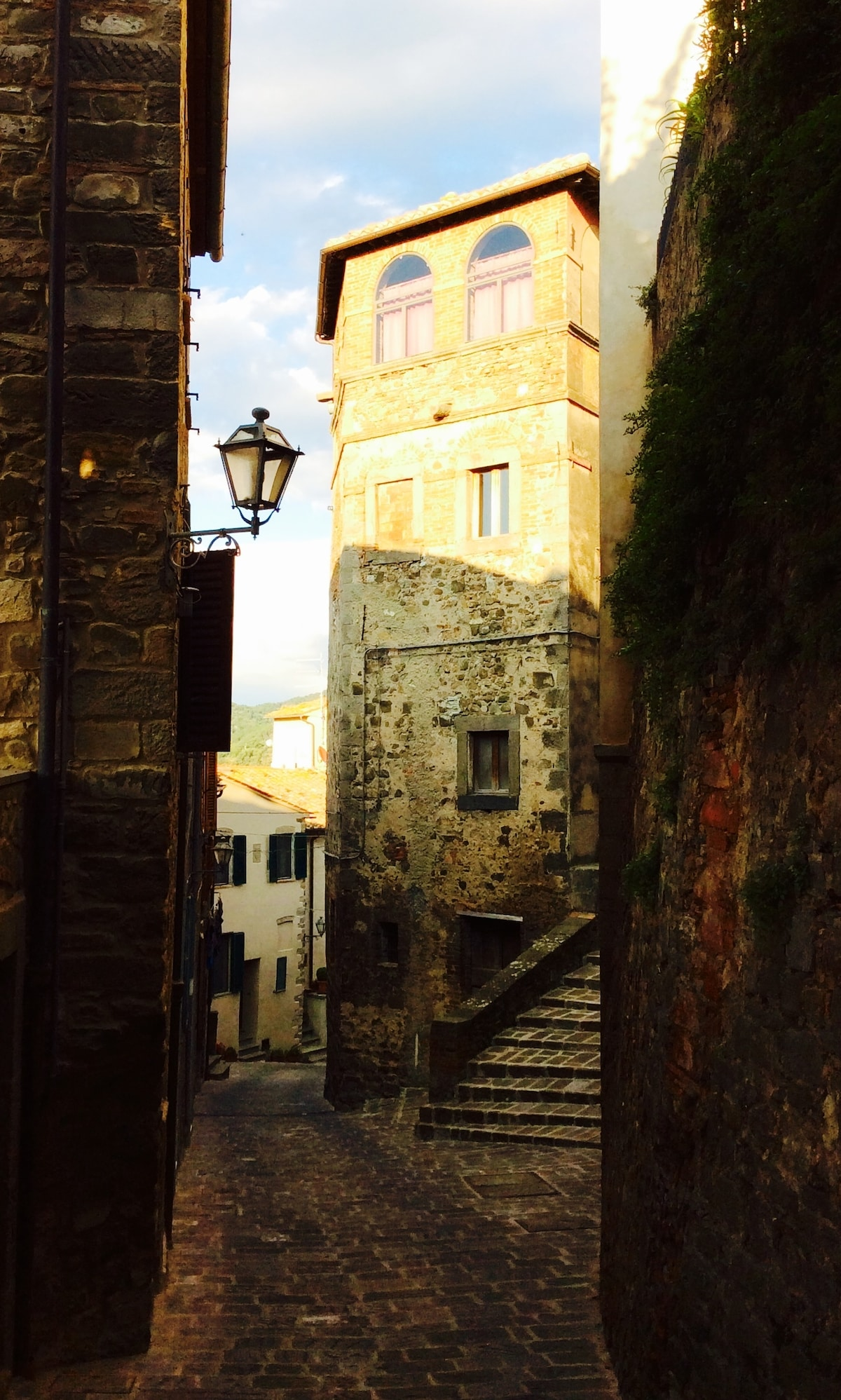 Medieval Tower in Tuscany