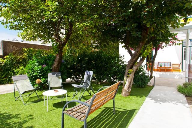 Relax in the zen garden