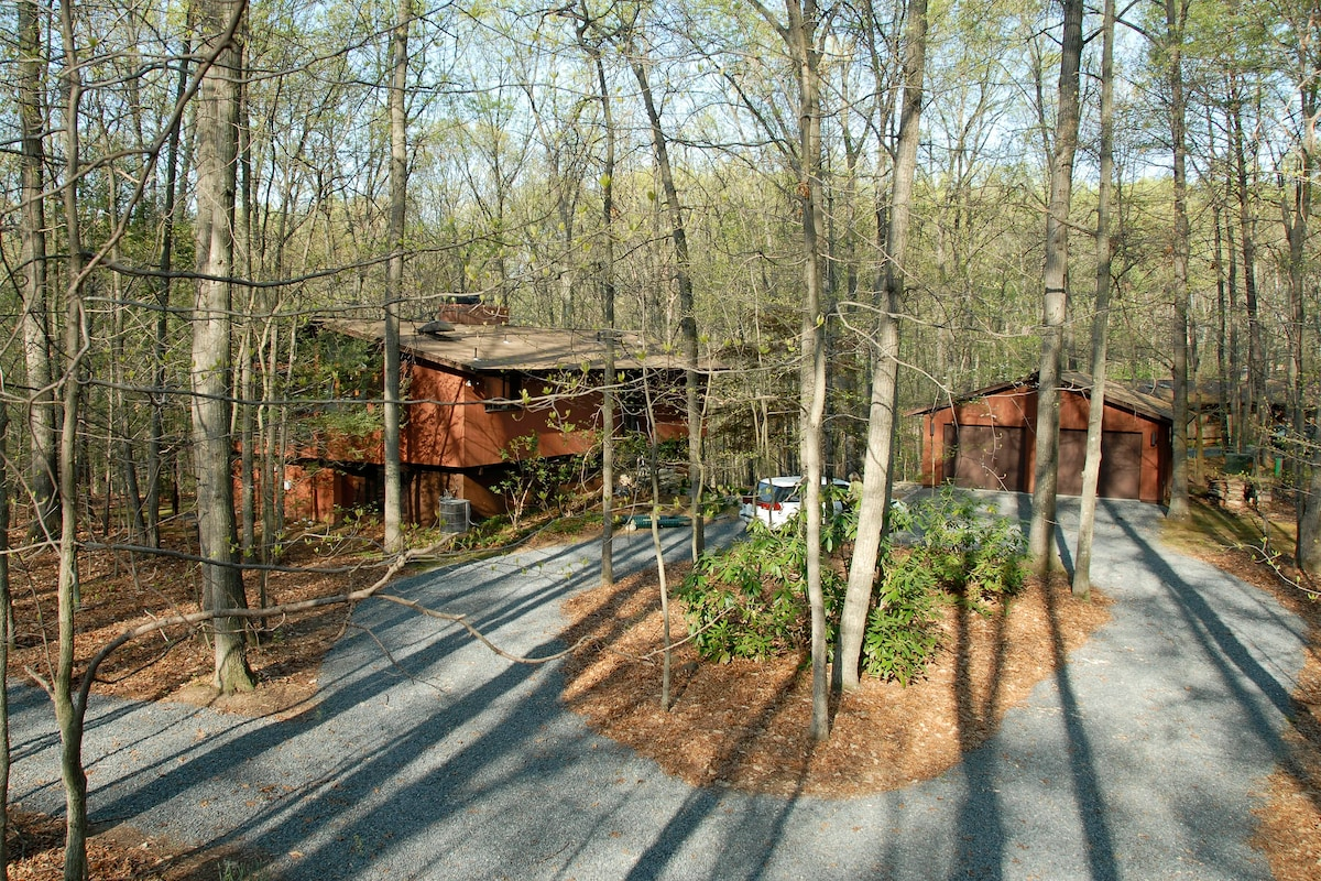Exec. Suite Nestled in Woods