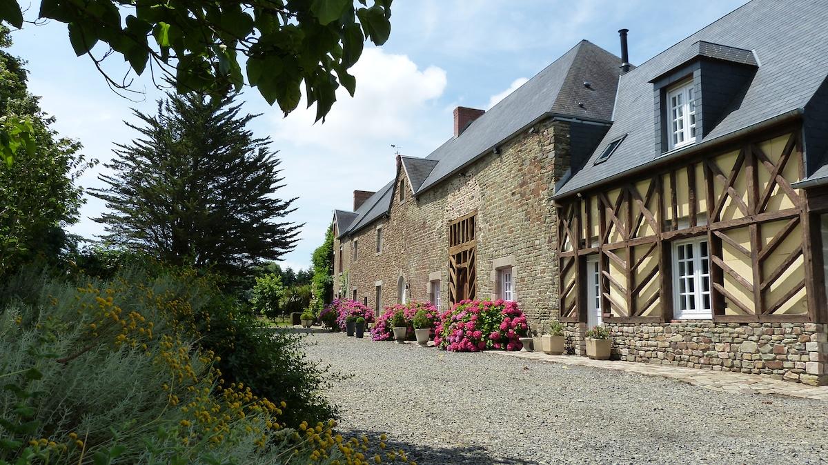 Gîte de charme baie Mont St Michel