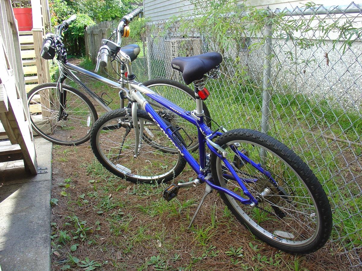 2 good bikes to ride