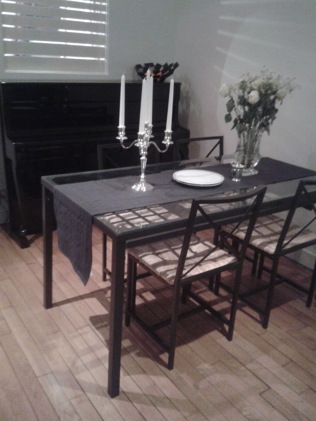 A nice dining room