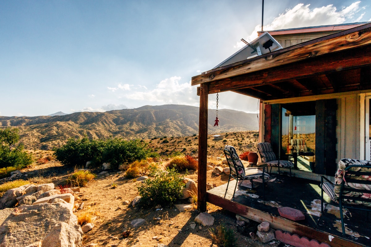 Off-grid, Burns Canyon remote ranch