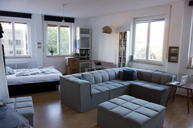 Spacious room in central Munich