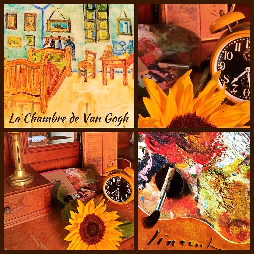 La chambre Van Gogh vous attend! The Van Gogh room is just waiting for you!