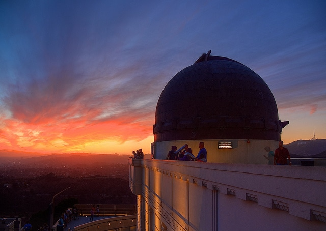 Magnificent panoramic views of Los Angeles at Griffith Observatory only 20 min drive