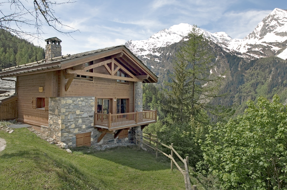 Traditional mountain chalet