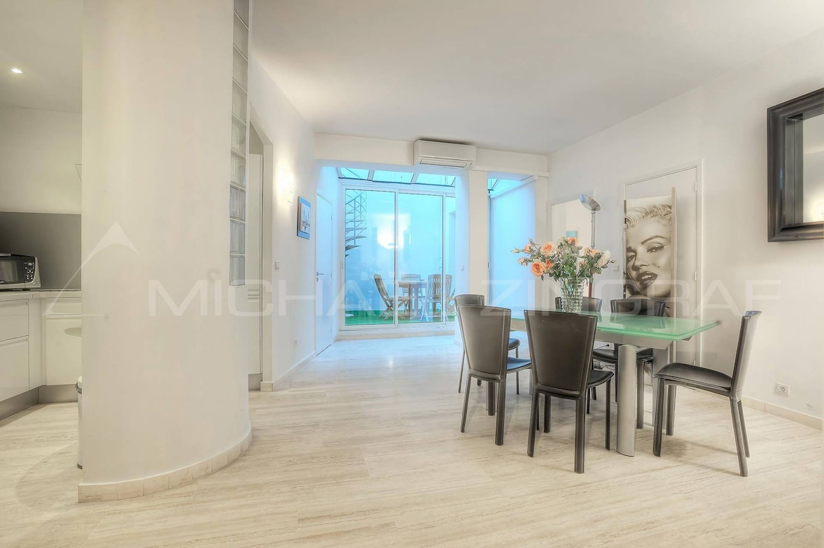 Cannes 2 appartements rue d'Antibes