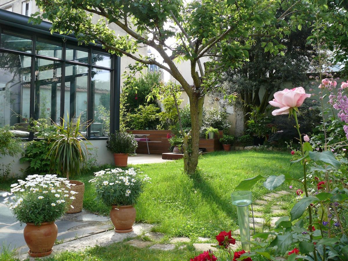 Chambre sur jardin in reims for Jardin 2000 reims tinqueux