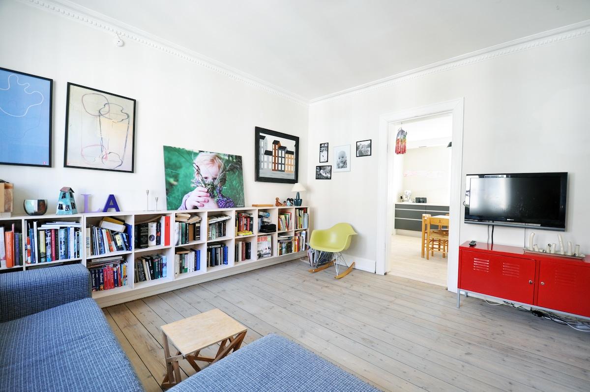 Copenhagen cosy familyappartment