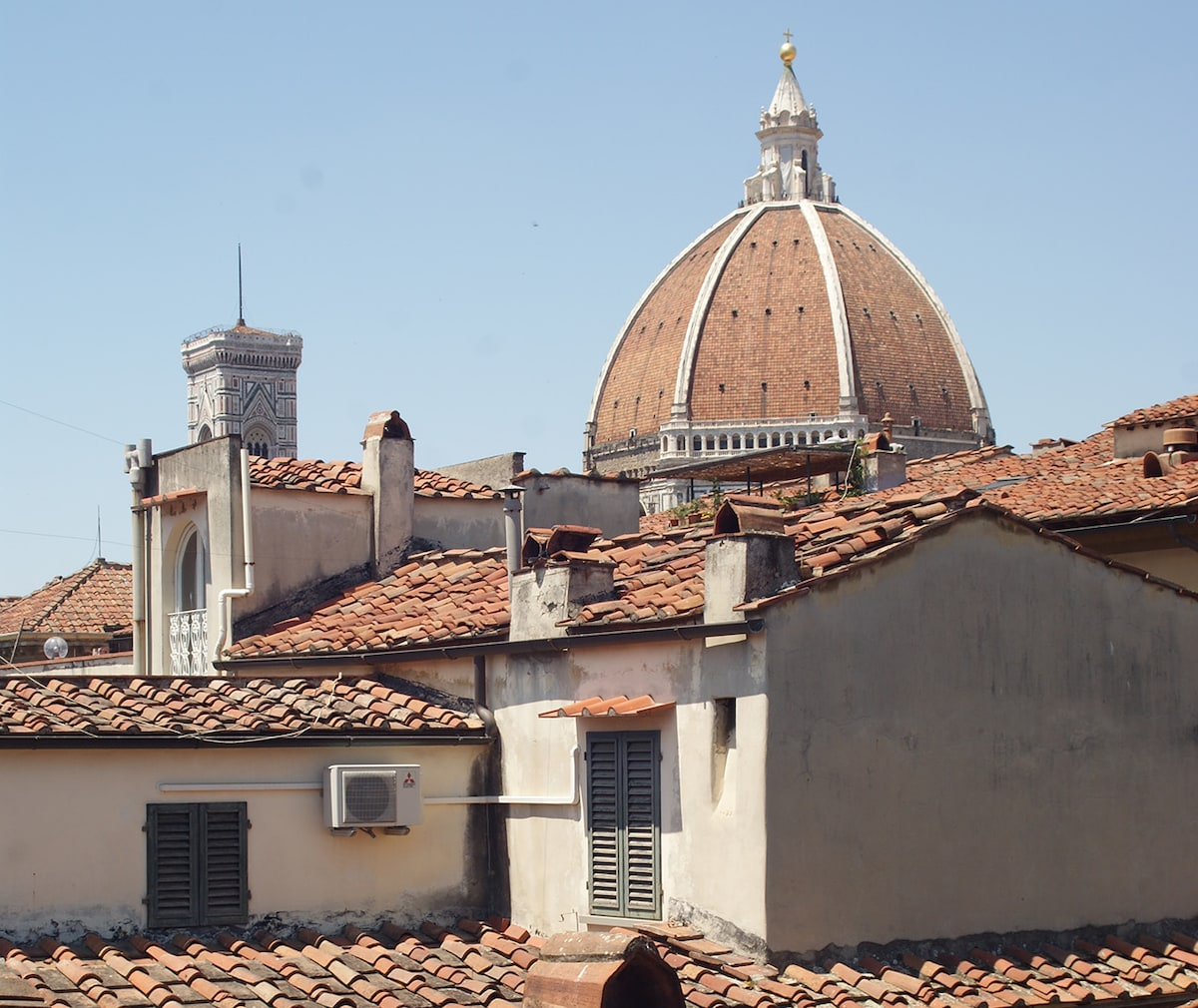 Attic in the heart of Florence