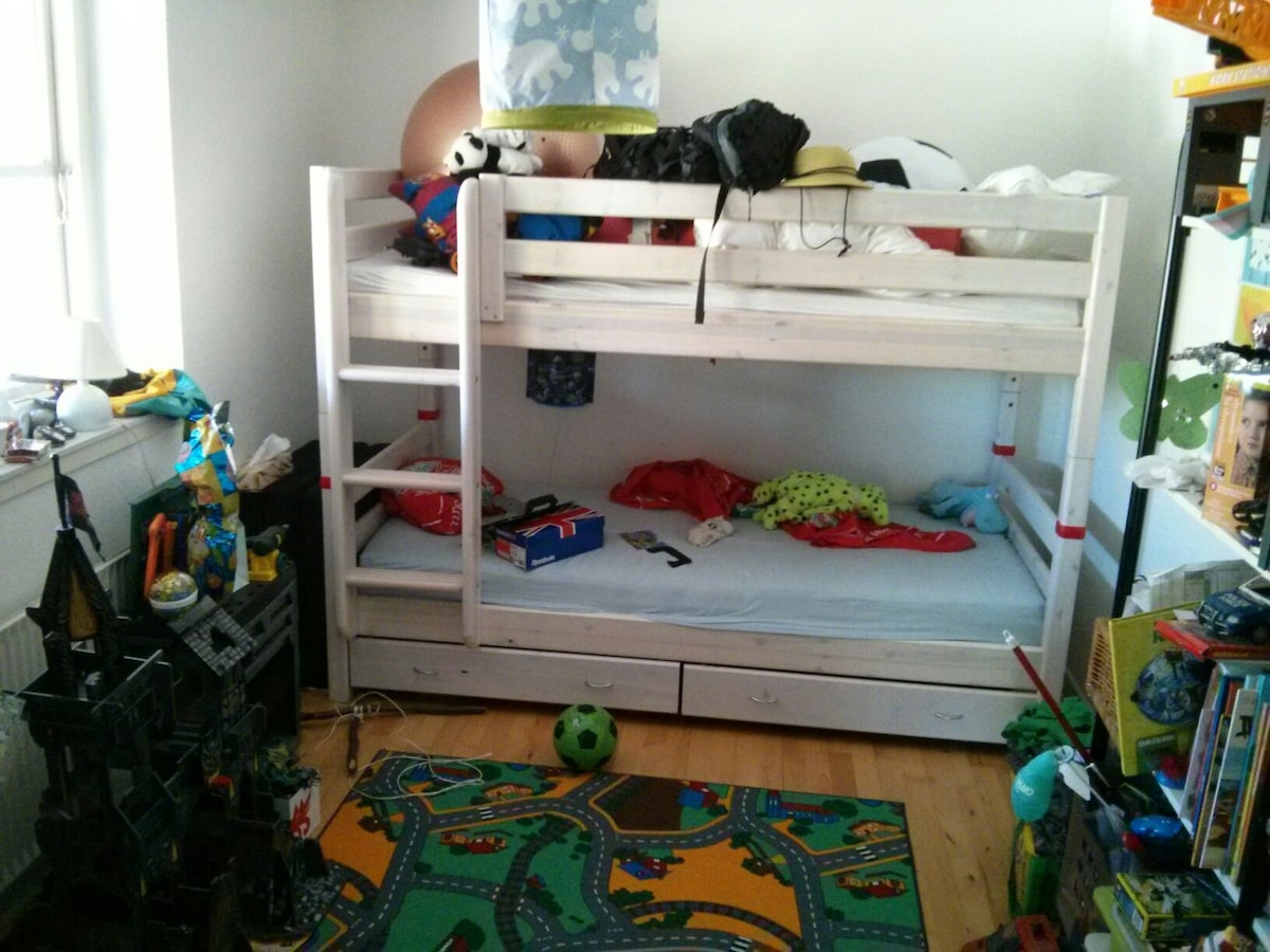 Kids room and mattress