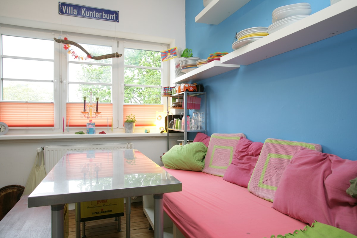 Feel-good house. Close to city+Elbe