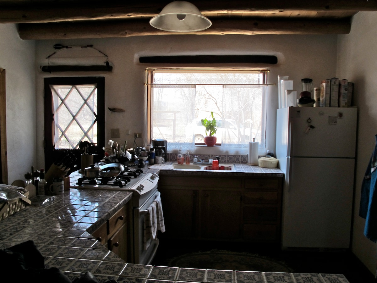 A cook's kitchen!