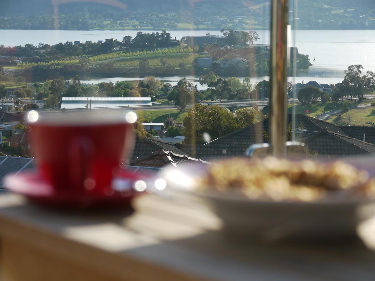 MONA view Accommodation near Hobart
