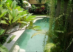 View of pool from your room balcony
