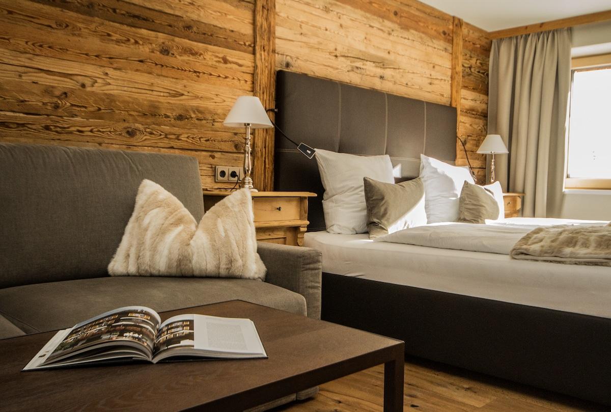 Luxury appartement with sauna