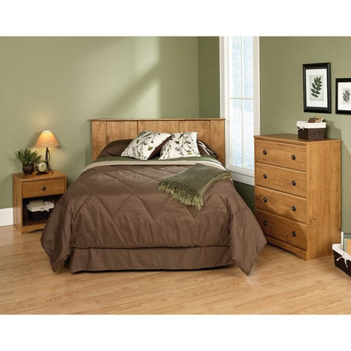 Queen size bed in a 3 bedroom house