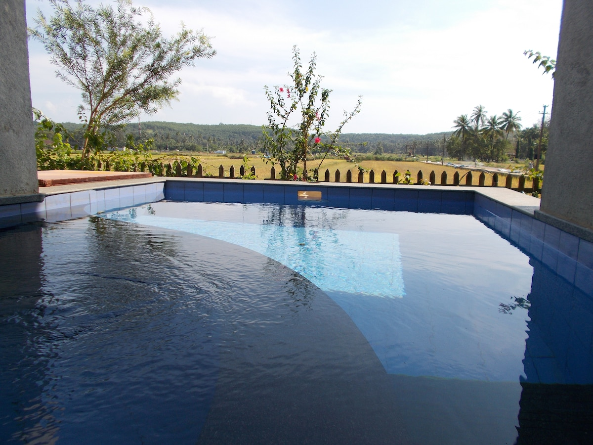Villa Nr Calangute with Plunge Pool