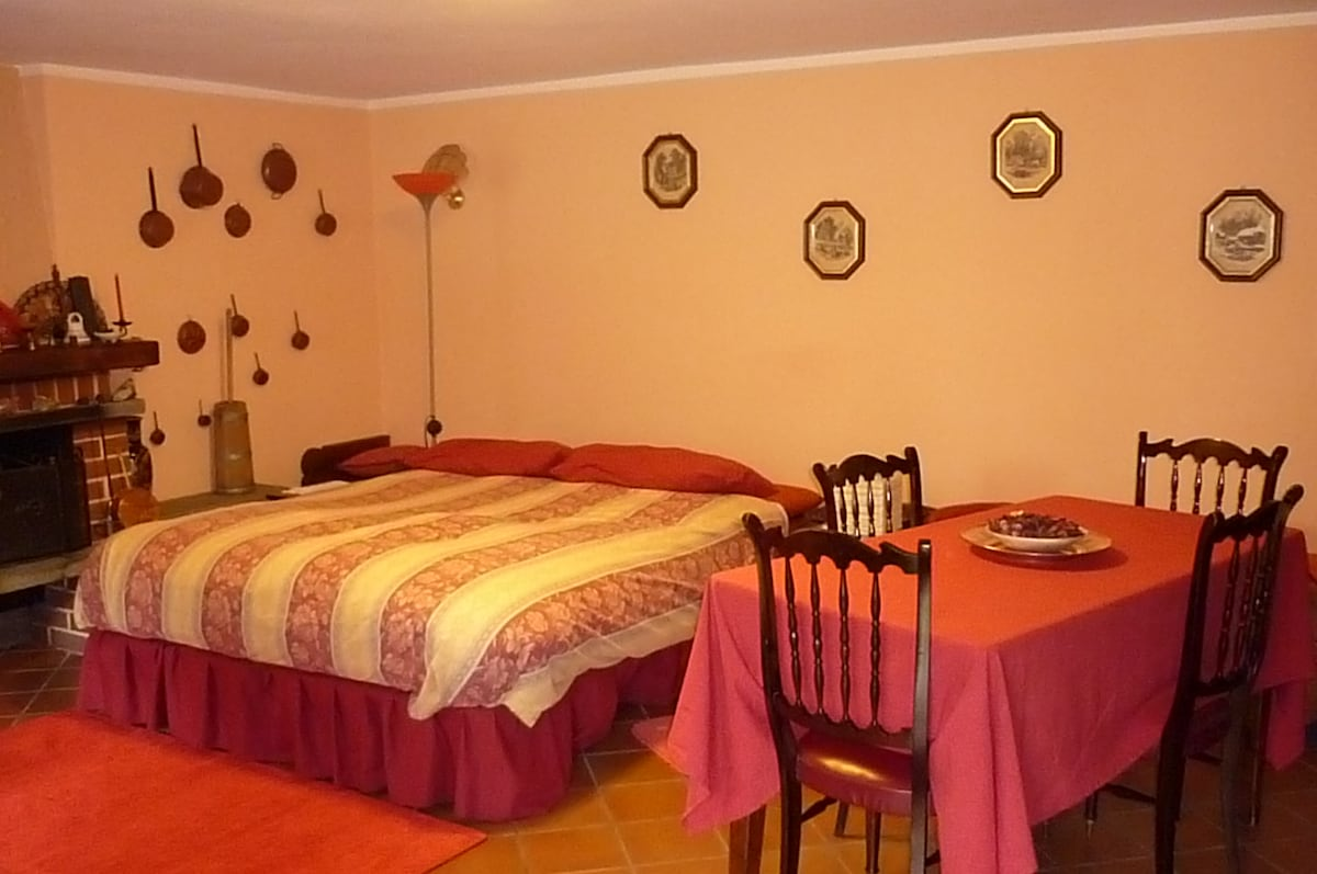 Stanza privata con letto matrimoniale - Private room with double bed