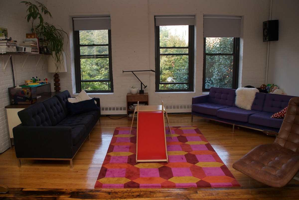 3 Bedroom Fort Greene Loft