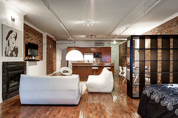 GORGEOUS LOFT IN OLD MONTREAL,