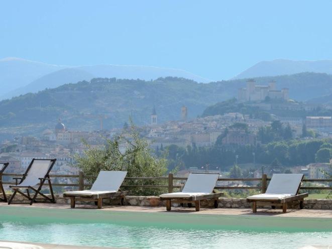 Il Sogno splendida vista su Spoleto