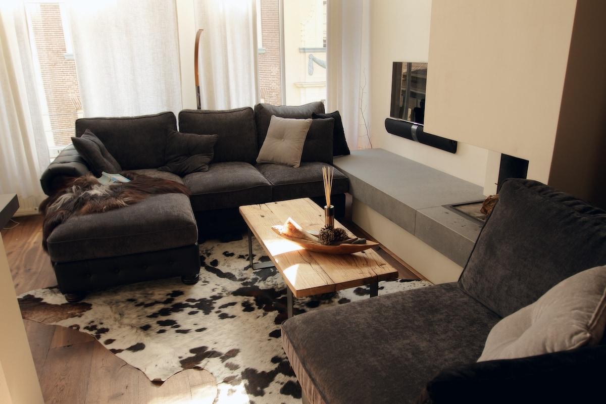 Lovely historical design apartment