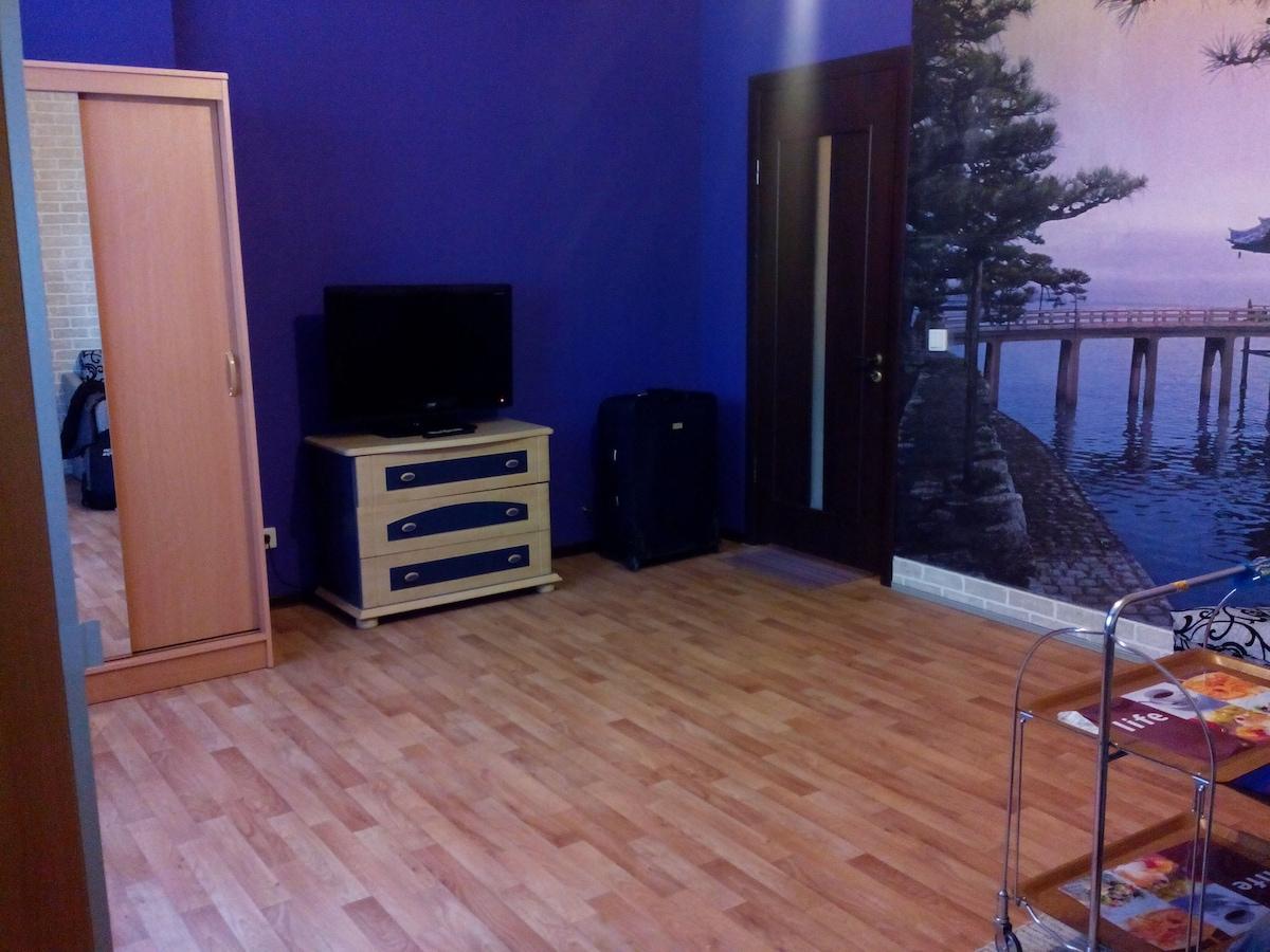Single room in apartment
