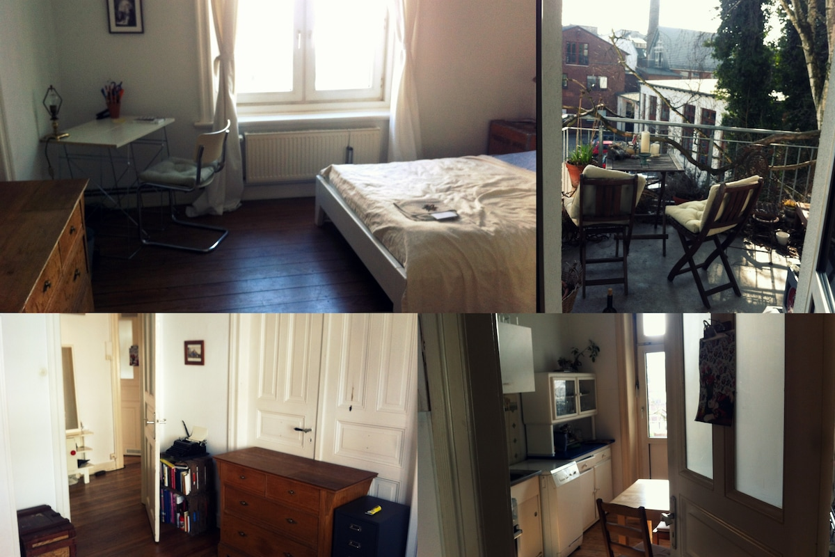 1room in a 2flatshare/3room apartm