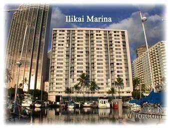 Ilikai Marina nestled on the Yacht Harbor in Waikiki