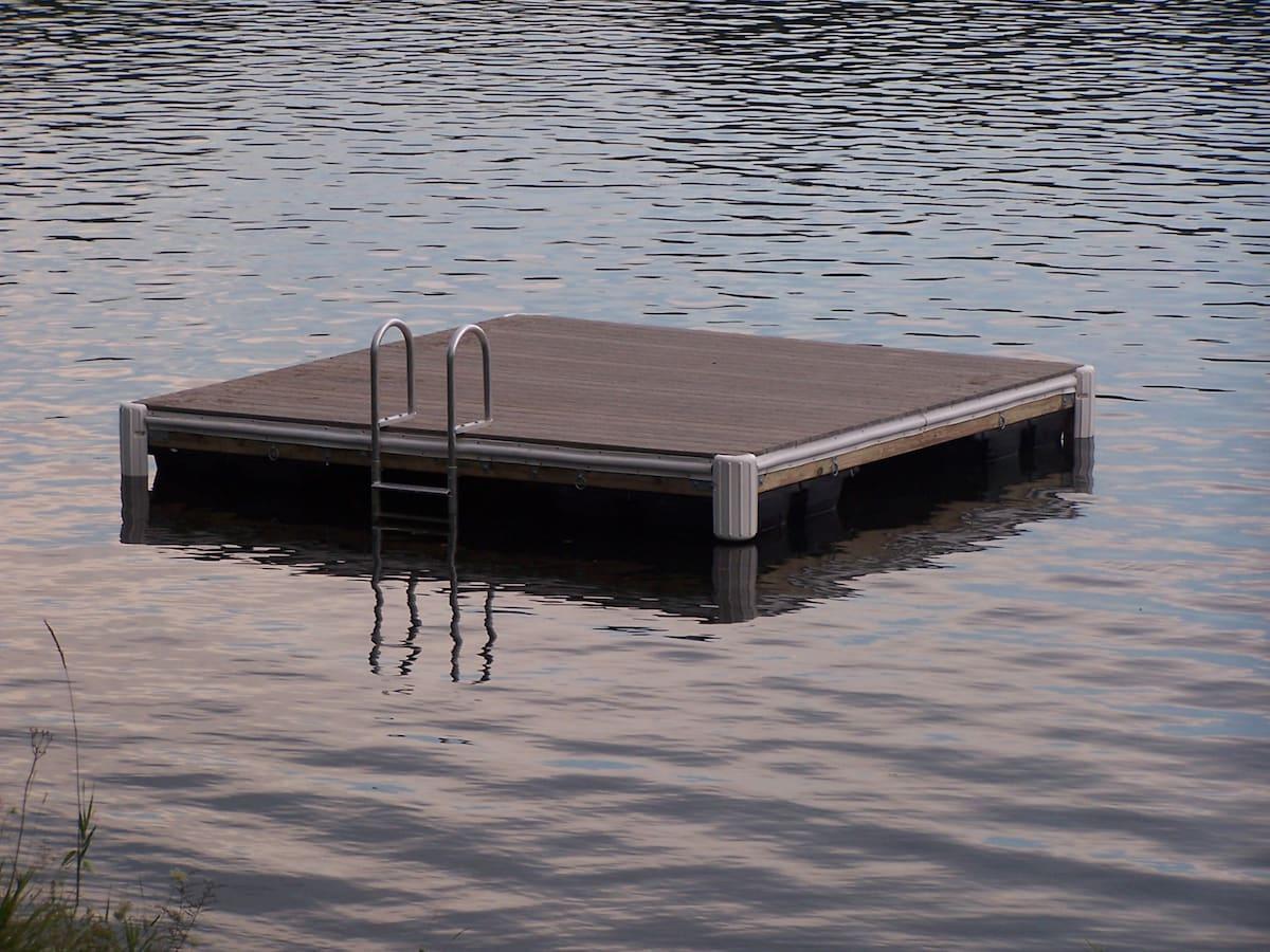Swim Platform for guests to enjoy!