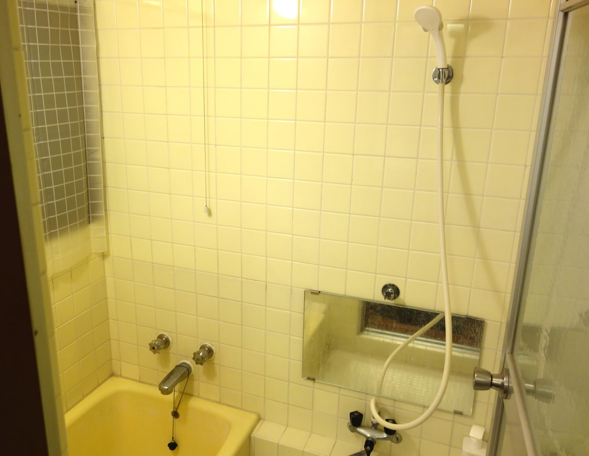Shampoo ,rinse and Body soap are free.  Heater in bathroom.