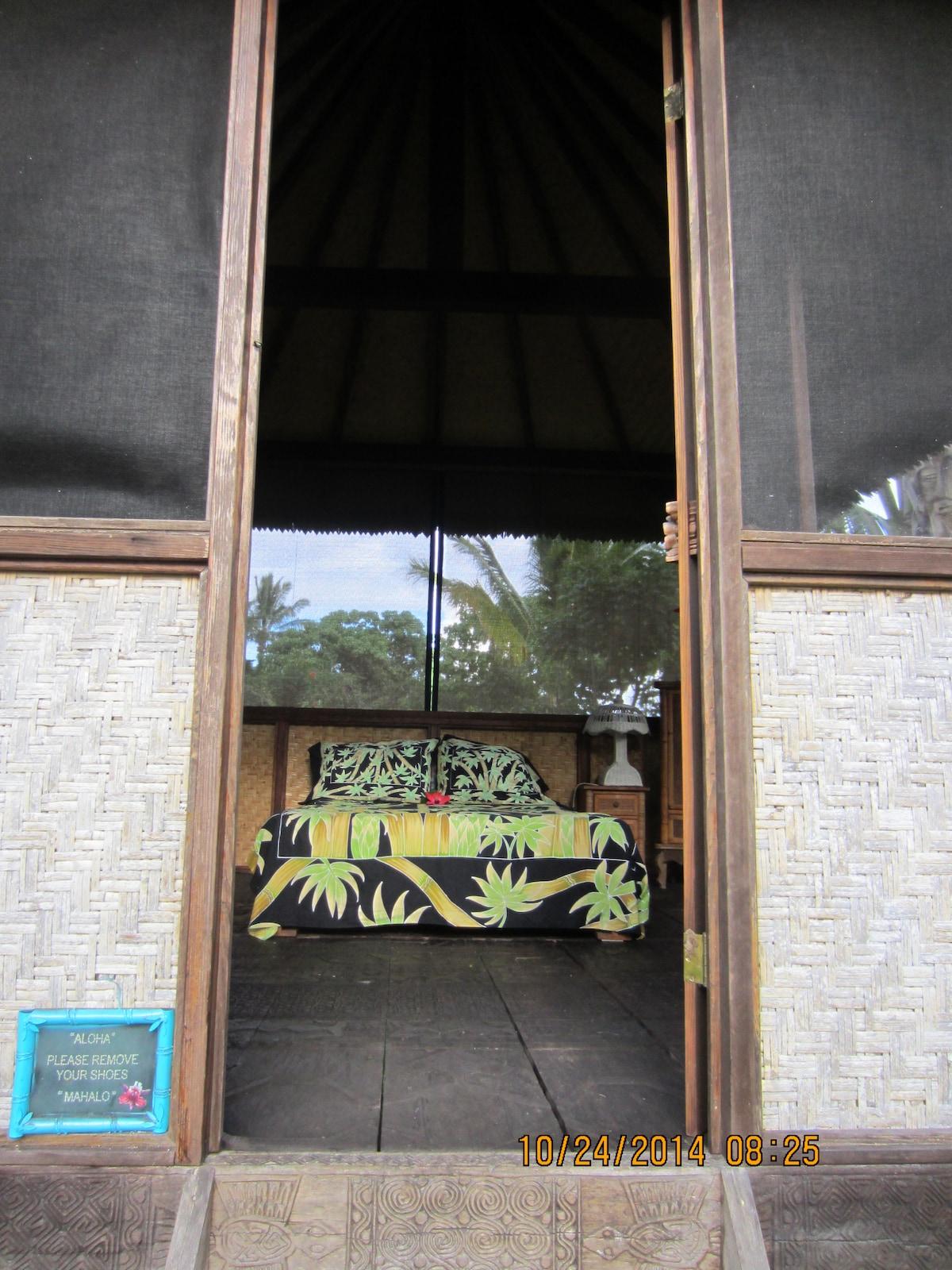 Bali hut entrance