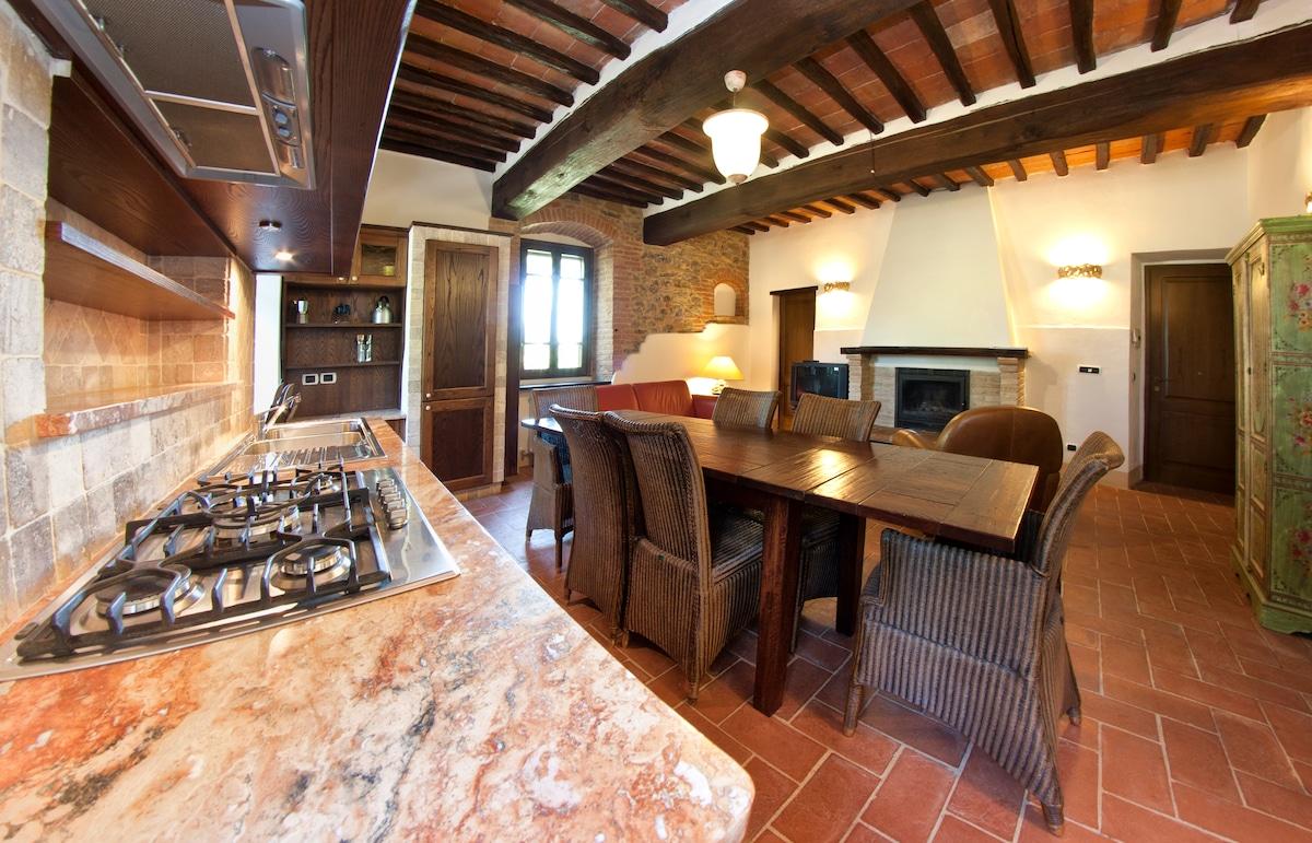 Stone Farmhouse with Pool 4 - Italy