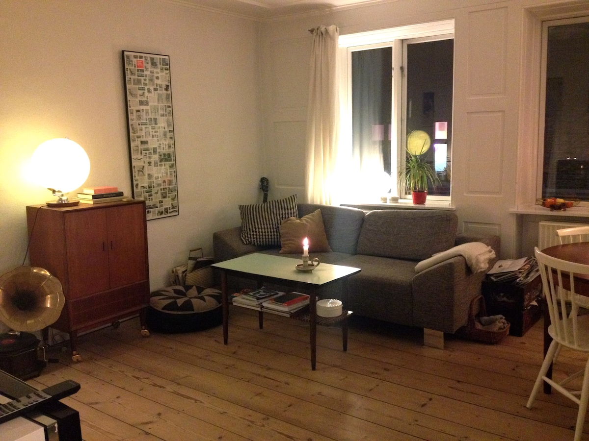 Cozy apartment in central CPH N