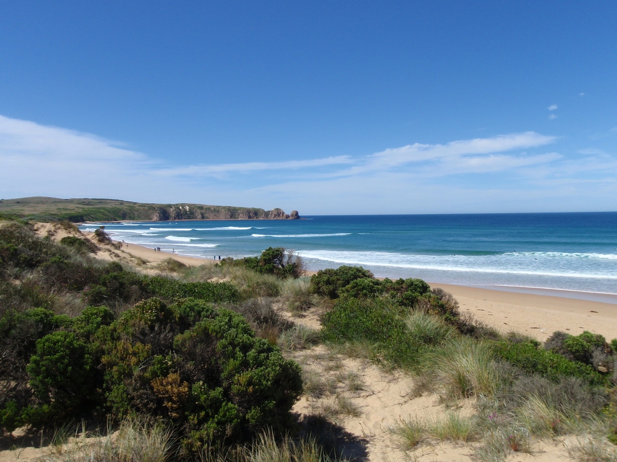 World famous Cape Woolamai surf beach