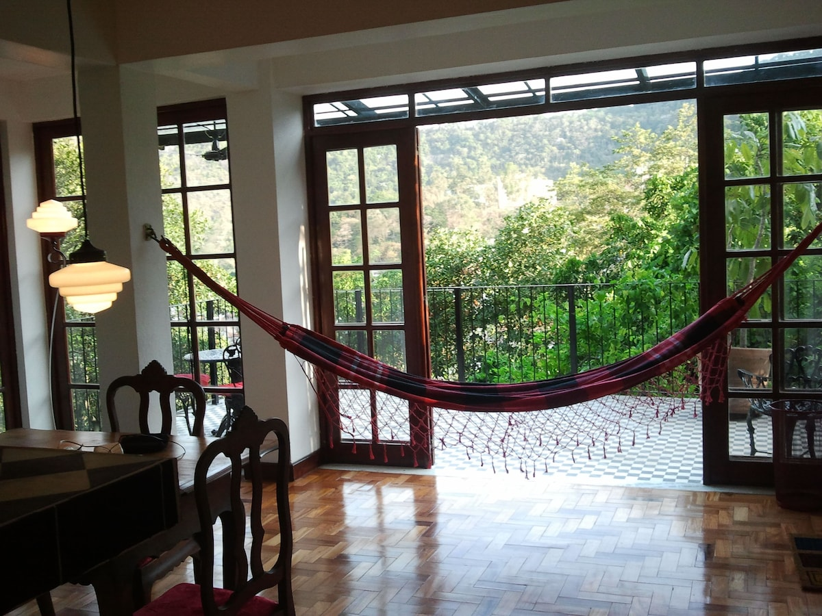 Top of the world in Bohemian house