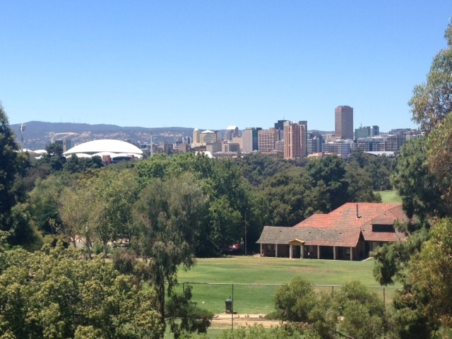 Amazing views of Adelaide City