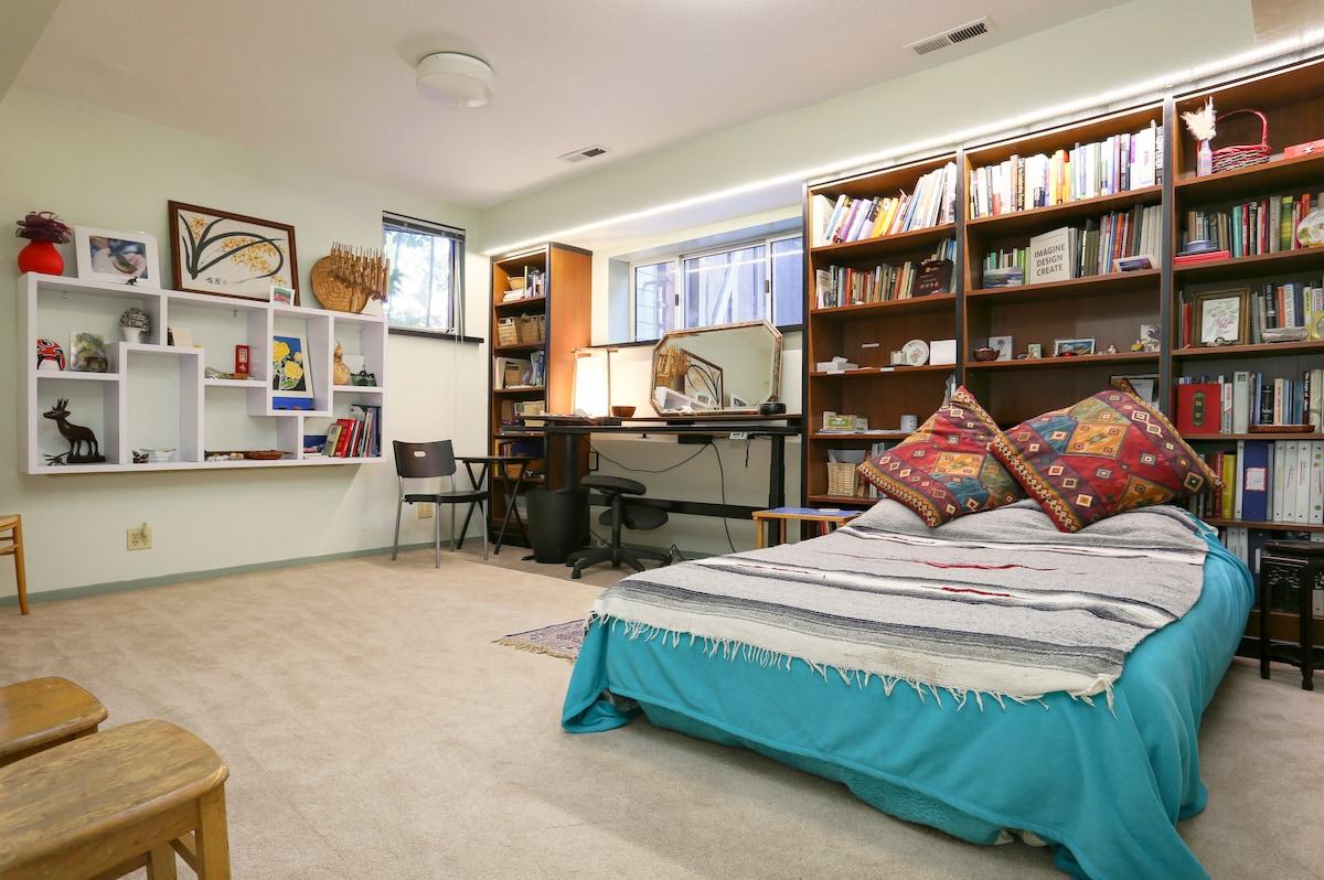 Zen Office and Sofa in Palo Alto