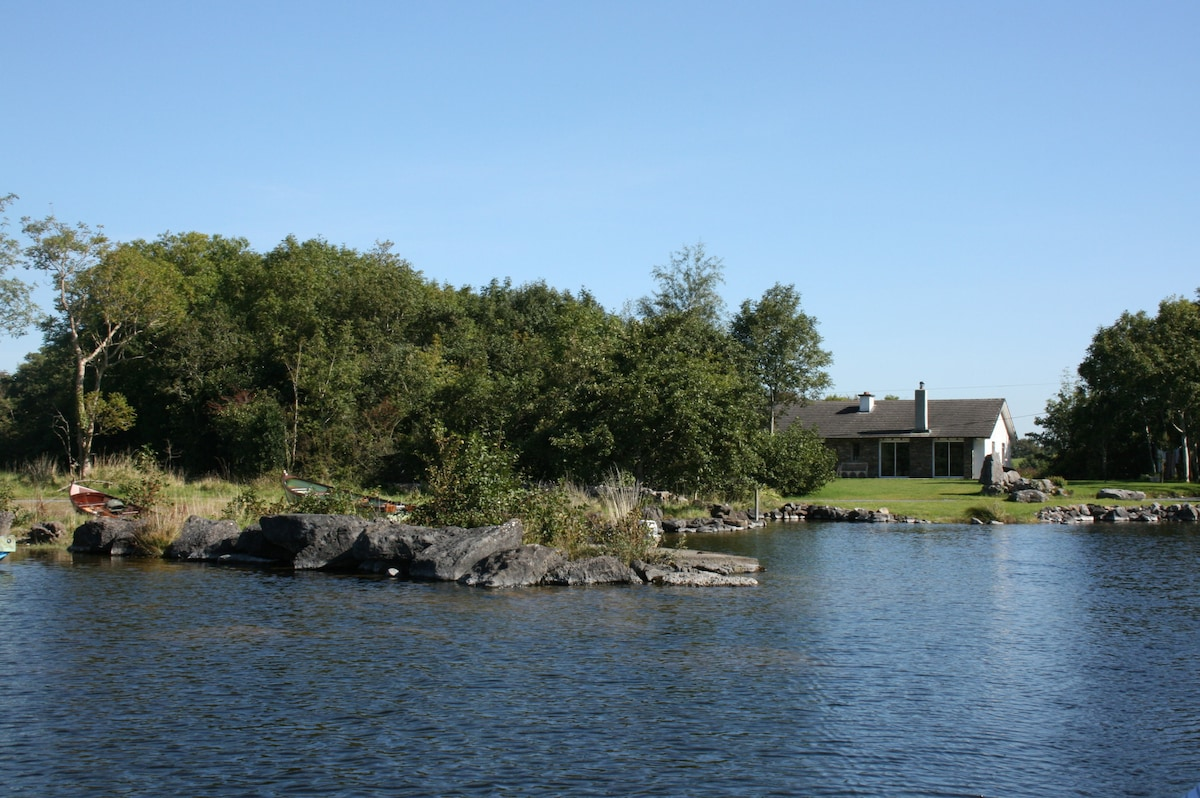 On the shores of Lough Corrib