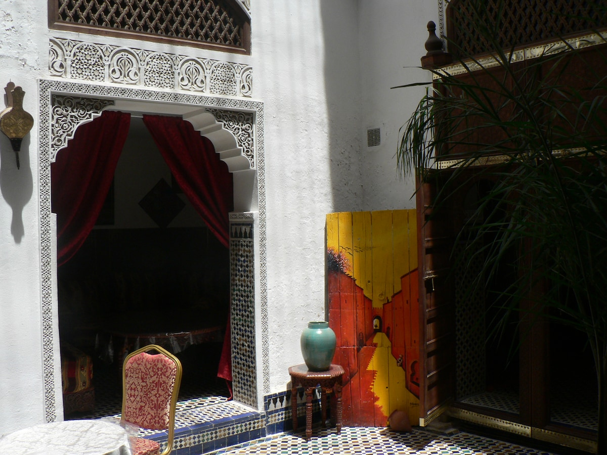 ROOM  in typical riad
